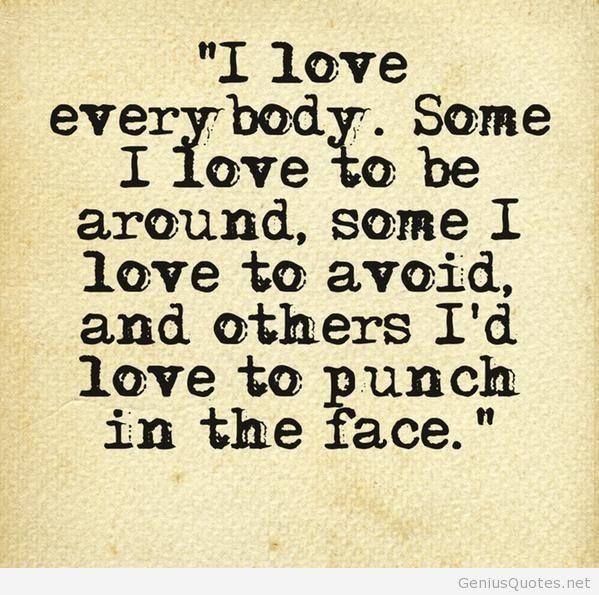 Loving Everybody