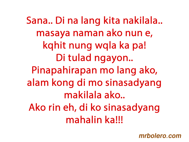Love Quotes Tagalog Her
