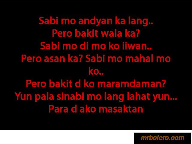 Love Quotes Tagalog Him