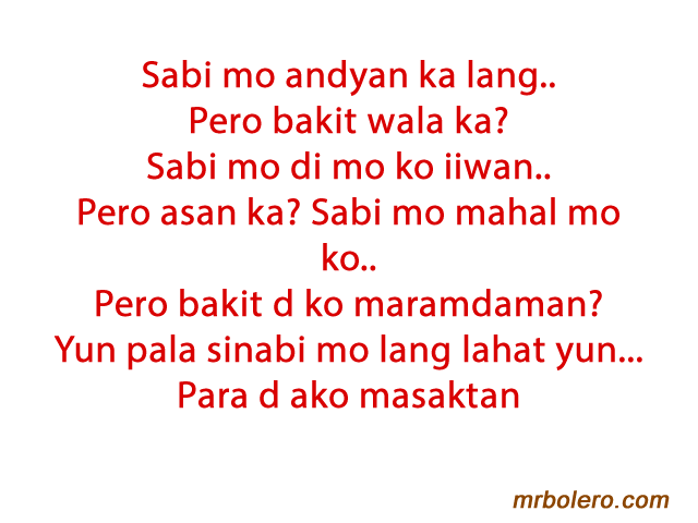Love Quotes Tagalog Him