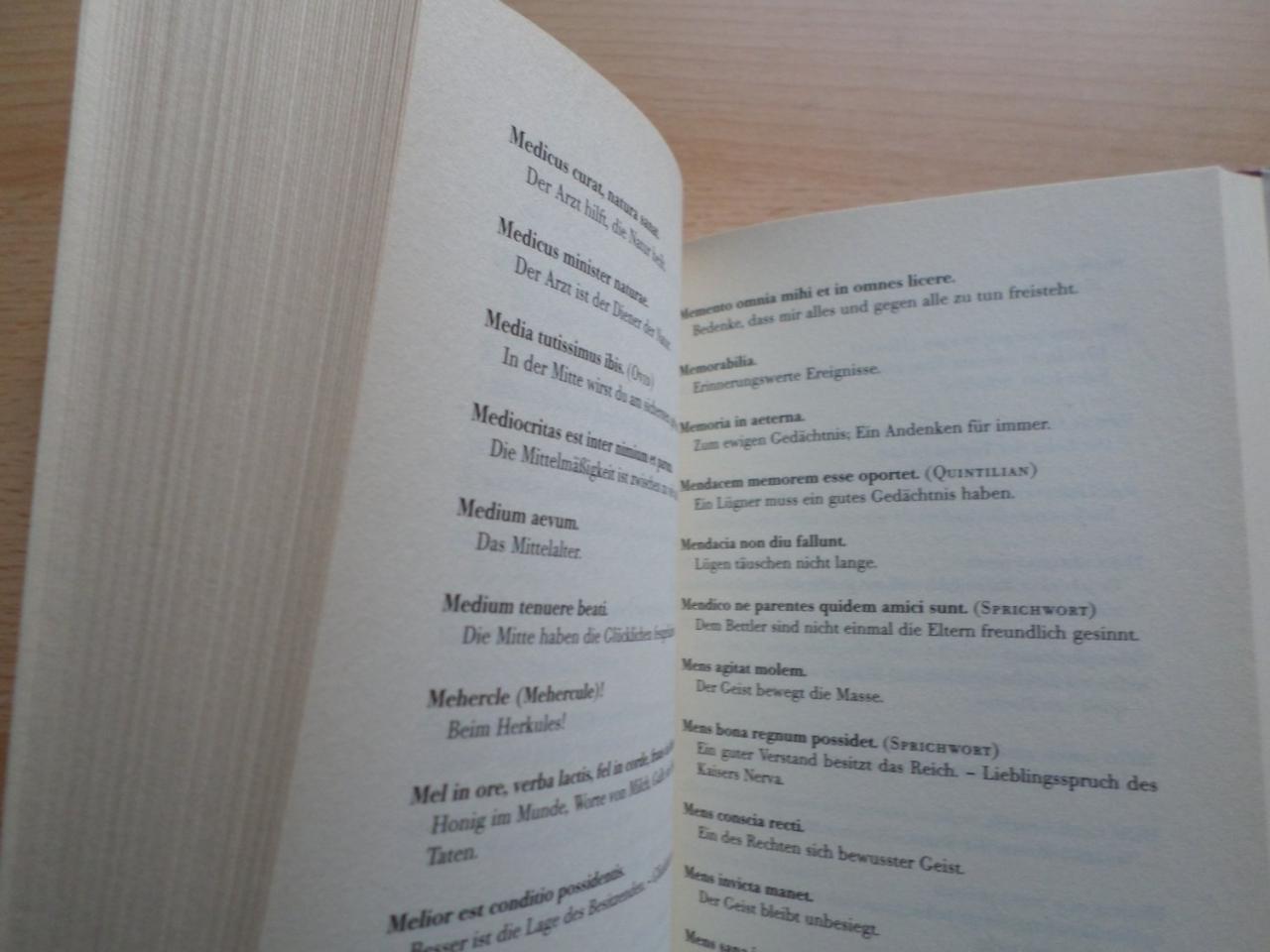 Gebrauchtes Buch Marc Mylius Perfekten Lateinischen Zitate Spruche Und Sprichworter