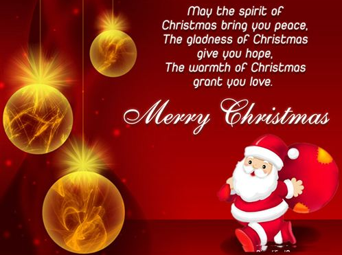Merry Christmas Happy Xmas  Spanish Quotes Wishes Messages Greetings