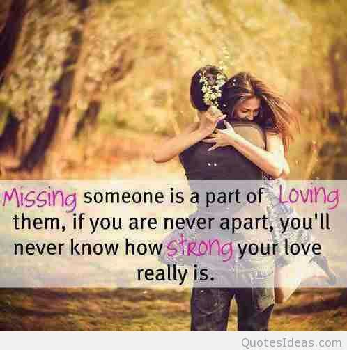 Missing Someone Strong Love Romantic Quote Boy Girl