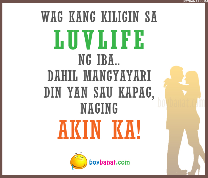 Funny Love Quotes Tagalog Sms