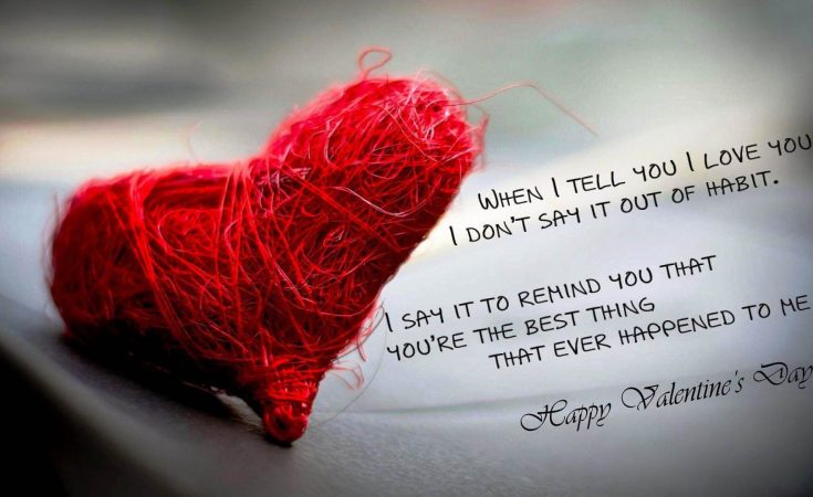 The Best Thing Happened To Me Quotes For Valentines Day