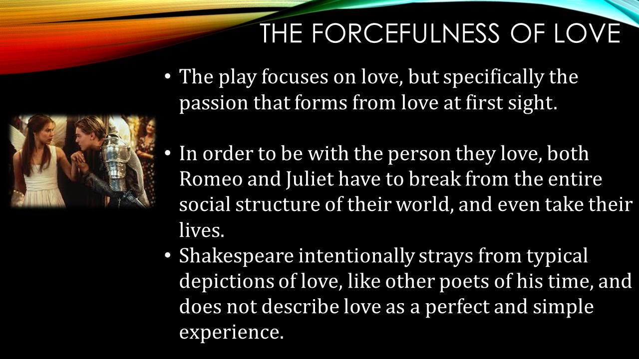 The Forcefulness Of Love