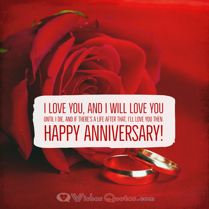 Happy Anniversary My Love I Love You And I Will Love You Until I Die And If Theres