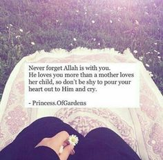 Allah Loves You More Than A Mother Loves Her Child Islam Allah
