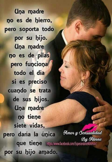 Mother Son Quotes Love My Son Coco Chanel Spanish Quotes Truths El Amor Mothers Love Kiss
