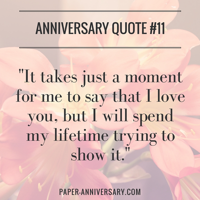 Anonymous Beautiful Anniversary Quote For Her