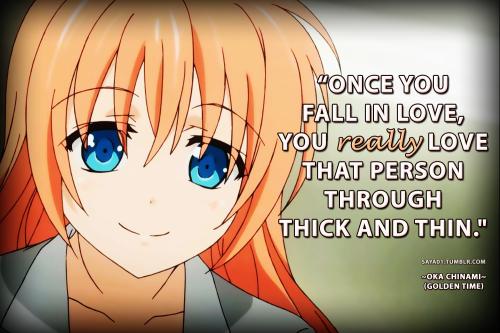 Anime  C B Anime Love Quotes