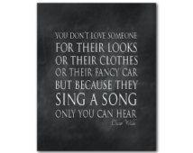 Oscar Wilde Zitat Musik Papier Sie Nicht Jemanden Lieben For In