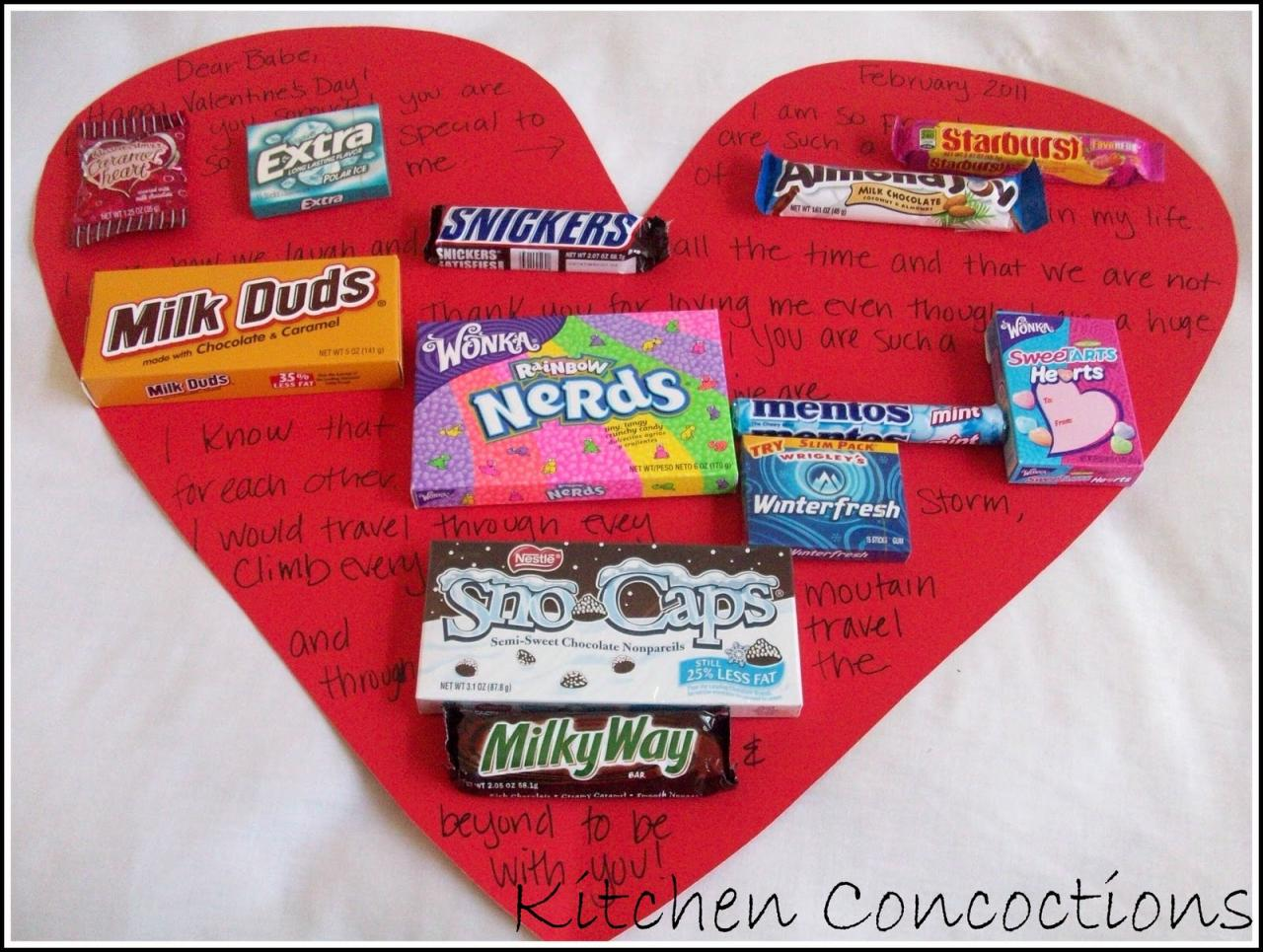 How To Valentines Day Candy Cards