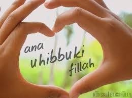 Kata Kata Arab Cinta Karena Allah