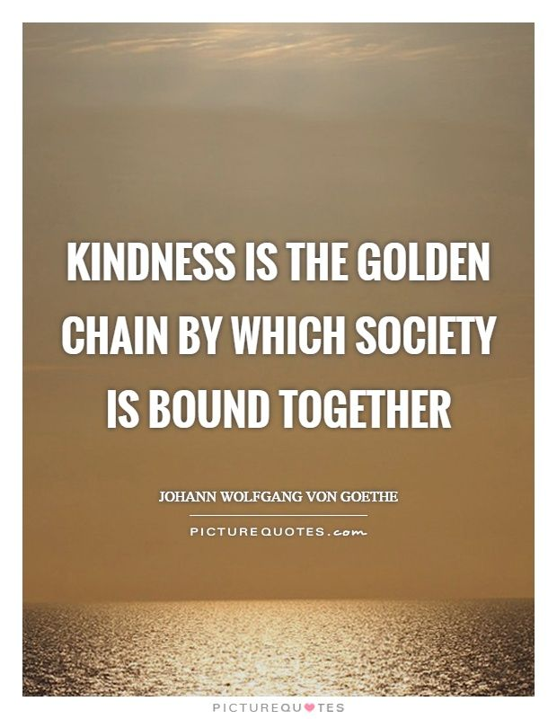 Einstein Quotes Kindness Quotes Society Quotes Johann Wolfgang Von Goethe Quotes