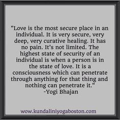 Yogi Bhajan On Love