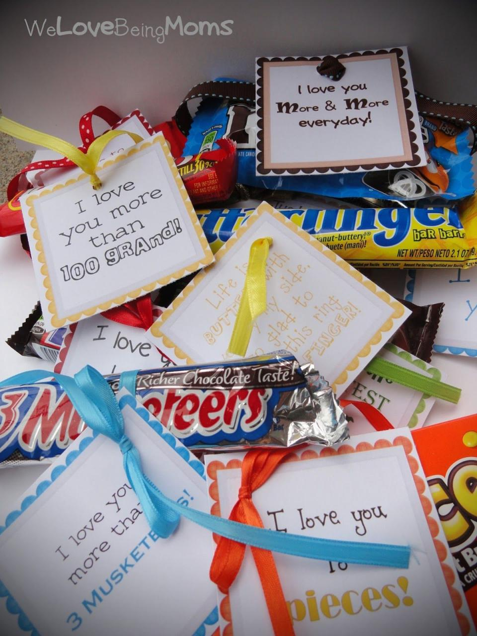 For The Candy Station So Many Cute Sayings To Go With The Most Popular Candy Bars Includes The Tags With Saying So All You Have To Do Is Attach It To The
