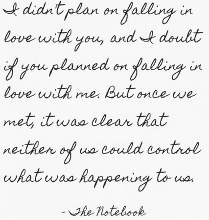 Falling Unique Love Quotes