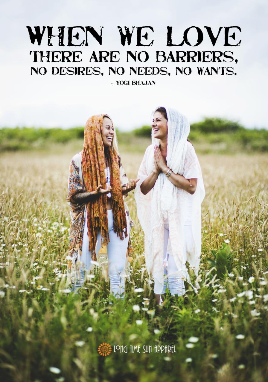 When We Love Yogi Bhajan Quote