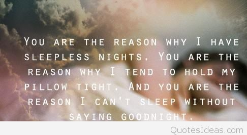 Good Night My Love Quote