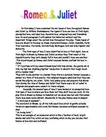 Romeo And Juliet Tragic Flaws Essay Paul Jolly Weebly Romeo And Juliet Final Essay Topics Image