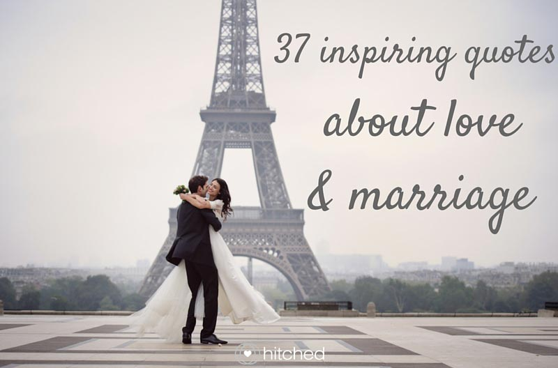 Inspiring Quote About Love And Marriage