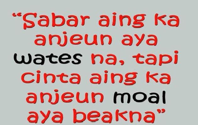 Kata Mutiara Bahasa Sunda Halus Dan Artinya  Kata mutiara islami bahasa inggris juga bisa ...