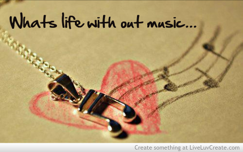 Music Life And Love Image