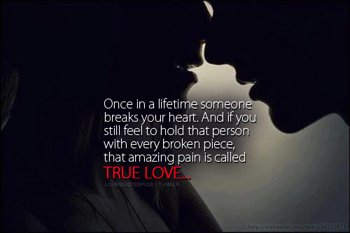 Love Quote And True Love Image