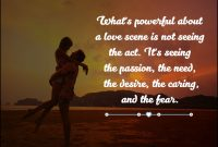Love And Care Quotes A Love Scene