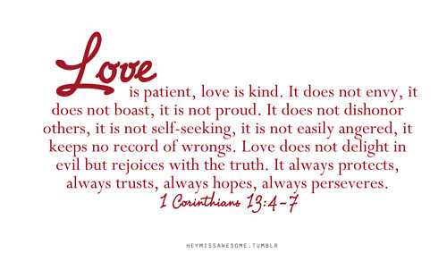 Love Quote From The Bible Corinthians Valentine Day