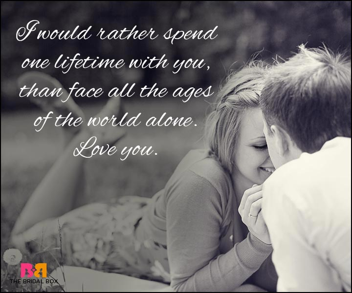 Love Quotes For Wife One Perfect Lifetime