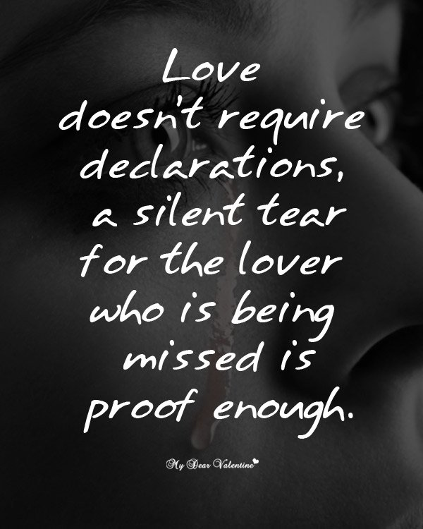 Missing You Picture Quotes Love Doesnt Require