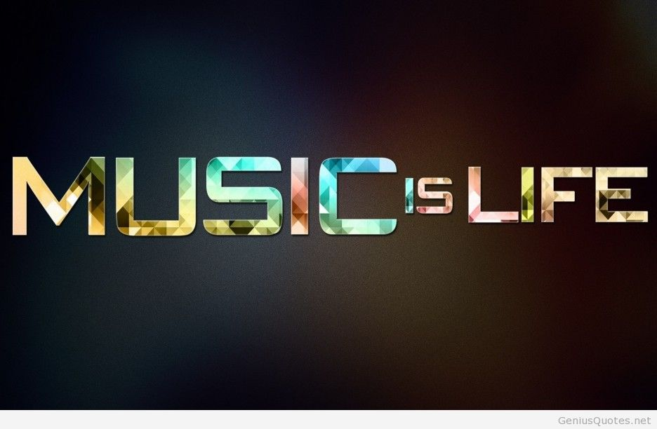 Music Is My Life Quote In Simple And
