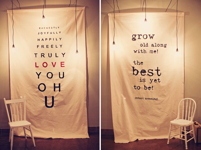 Love Quotes White Cloth With A Love Quote