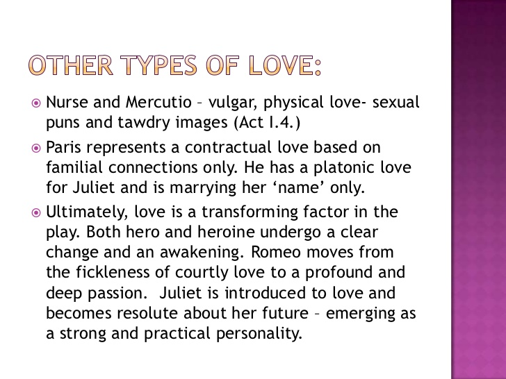 How Does Shakespeare Present The Theme Of Love In Romeo And Juliet Marked By Teachers Page