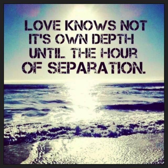 Separation Quote  Picture Quote