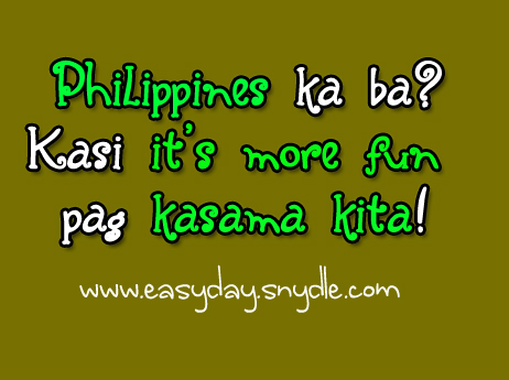 Tagalog Pick Up Lines