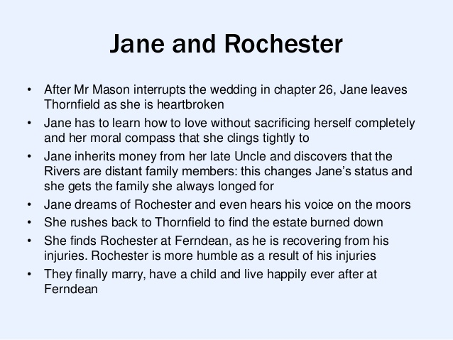 Jane And Rochester E  A