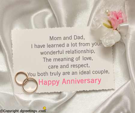 Happy Wedding Anniversary Mom And Dad Ive Always Looked Up To Both Of You And Tried To Copy You To Make My Life Better