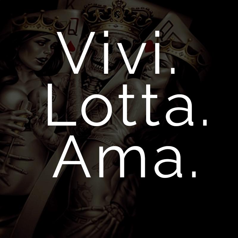 Weitere Spruche Vivi Lotta Ama Italienisch Fur Lebe Kampfe Liebe
