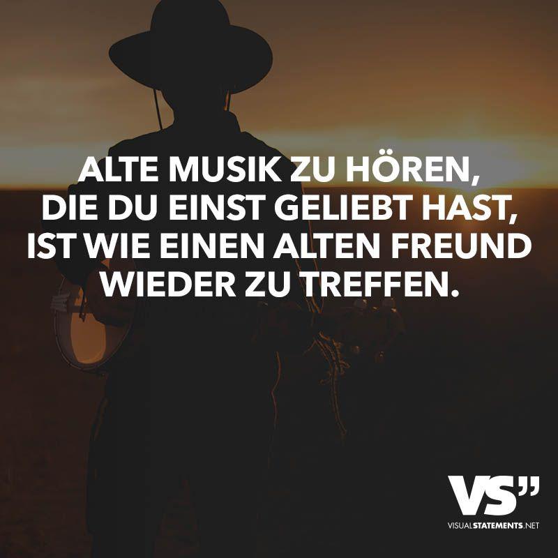 Alte Musik Zu Horen Du Einst Geliebt Hast Ist Wie Einen Alten Freund Wieder Zu Treffen Visual Statements
