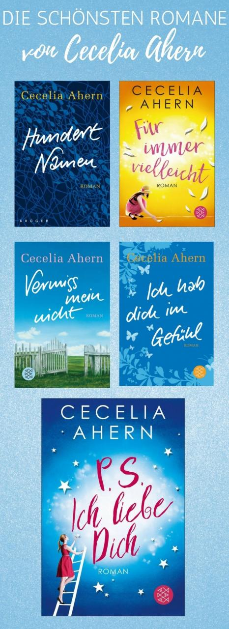 Cecilia Ahern Gelang Mit Ihrem Ersten Bestseller Roman P S Ich Liebe Dich Nicht Nur Ein Welterfolg Sie Brachte Damit Auch Den Stein Fur Eine Erfolgreiche