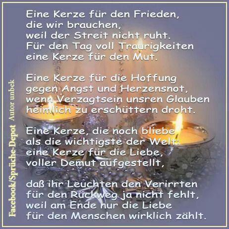 Eine Kerze Fur Den Frieden