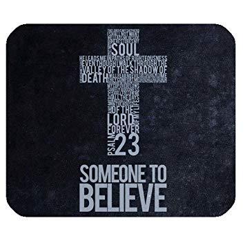 Best Seller Christlichen Bibel Vers Zitate Psalm  Kreuz Someone To Believe Pattern Design Tuch Cover