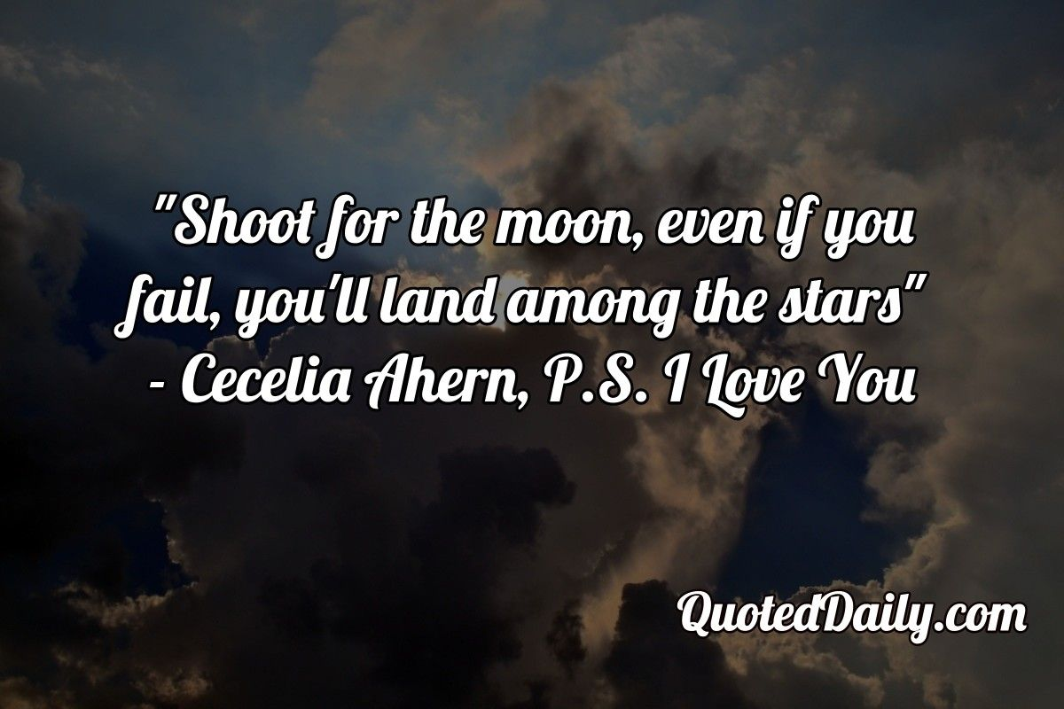 Cecelia Ahern P S I Love You Quote More At Quoteddaily Com