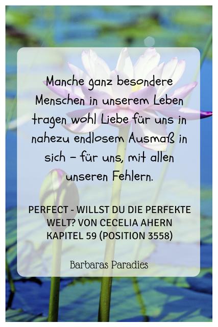 Buchrezension  Perfect Willst Du Perfekte Welt Von Cecelia Ahern