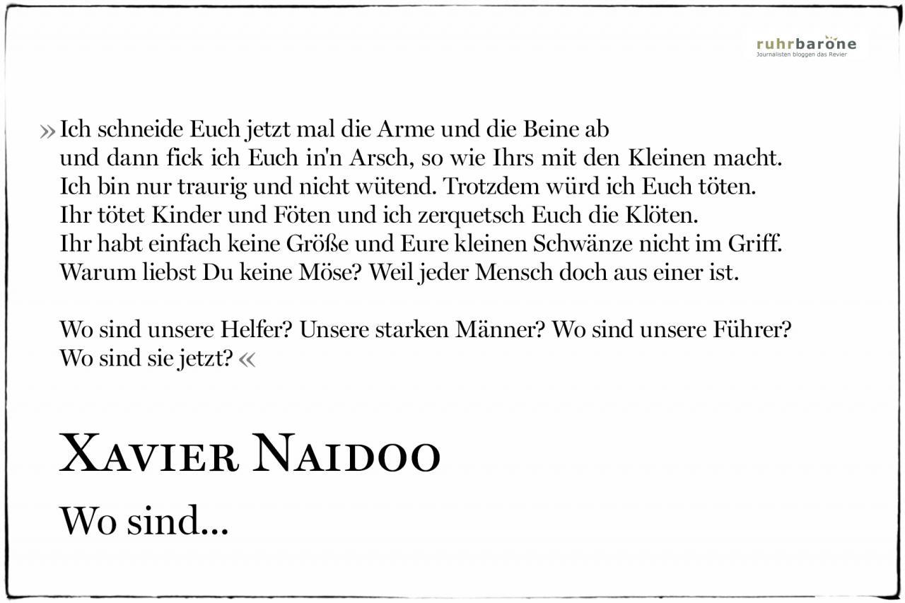 Schone Zitate Aus Liedern Bilderstrecke Besten Zitate Von Xavier Naidoo Im