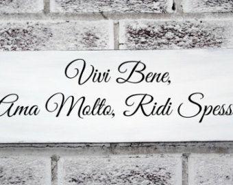 Weise Spruche Italienisch