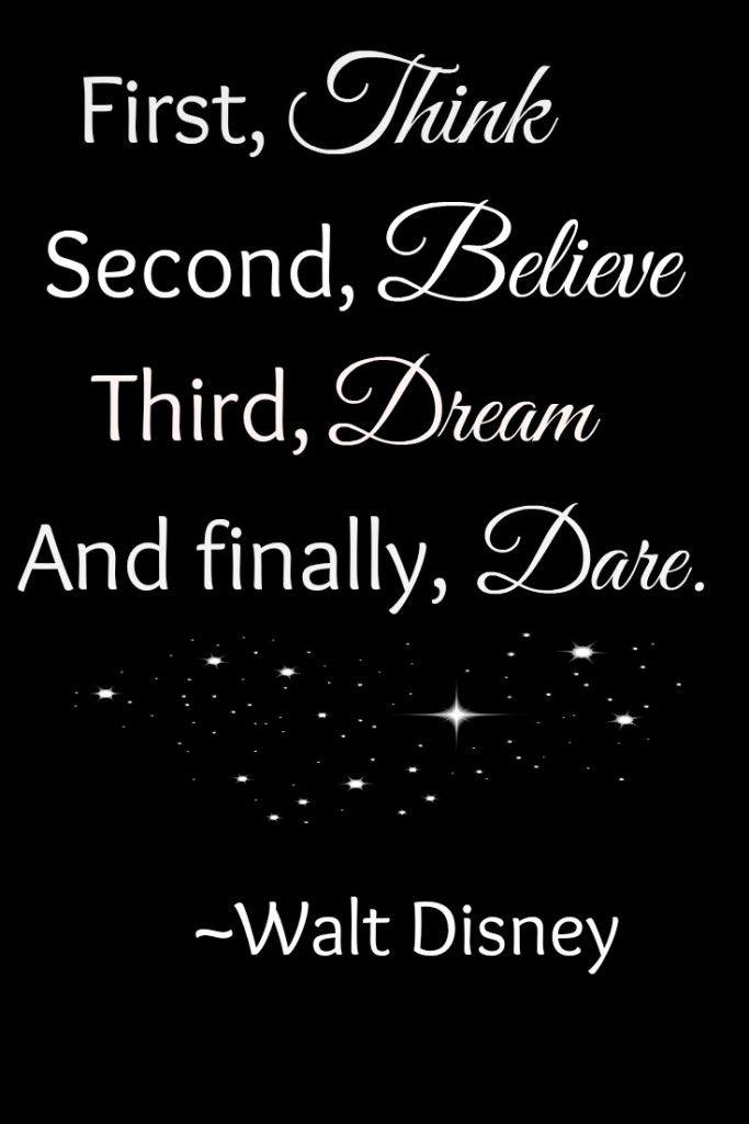 Disney Believe Quote